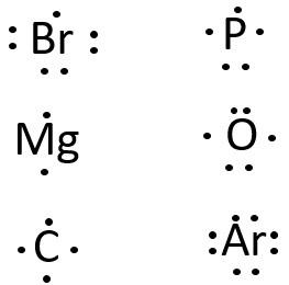 Escriban Las Estructuras De Lewis De Los Siguientes Atomos