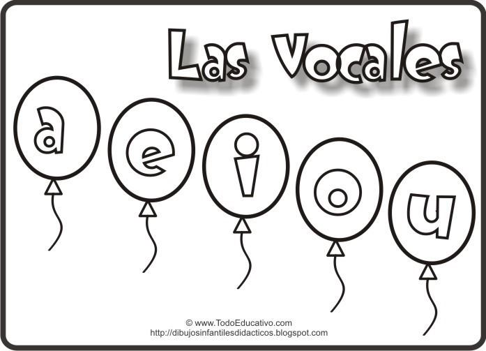 Imagenes De Las Vocales Para Colorear Ayuda Porfa