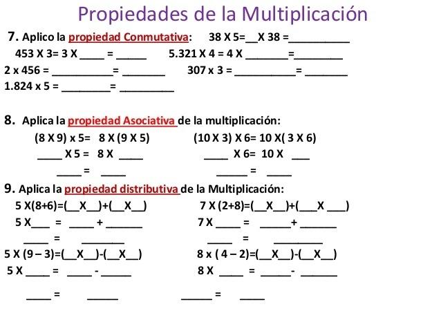 ejercicios de matematicas para cuarto grado de primaria para ...
