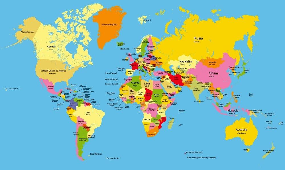Ubicacion En El Mapa Planisferio España Italia Y Francia Brainly Lat