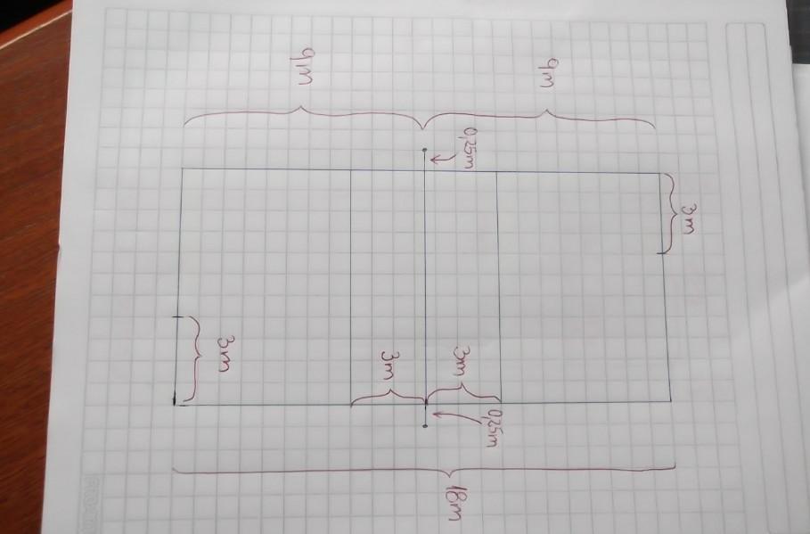 Dibujo De Cancha De Voleibol Con Sus Medidas
