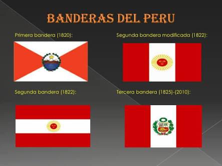 La primera es bandera cual