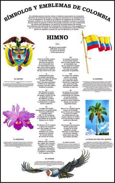 Dibujos Del Escudo De Colombia La Bandera Y Los Emblemas Nacionales Brainly Lat