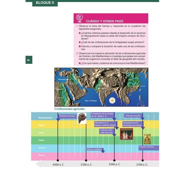 Libro De Atlas De Geografia Del Mundo 6 Grado