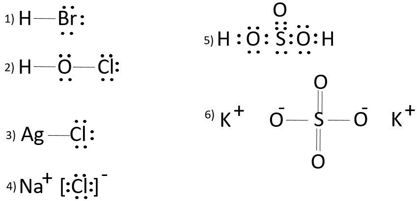 Propone La Estructura De Lewis Y El Tipo De Enlace Quimico Hbr