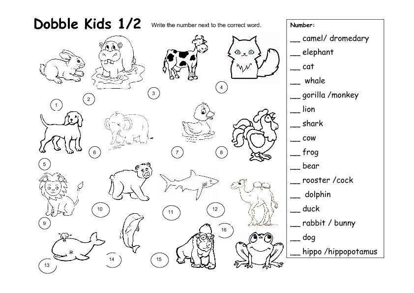 Juegos De Ingles Para Ninos De 8 Anos Los Animales Brainly Lat