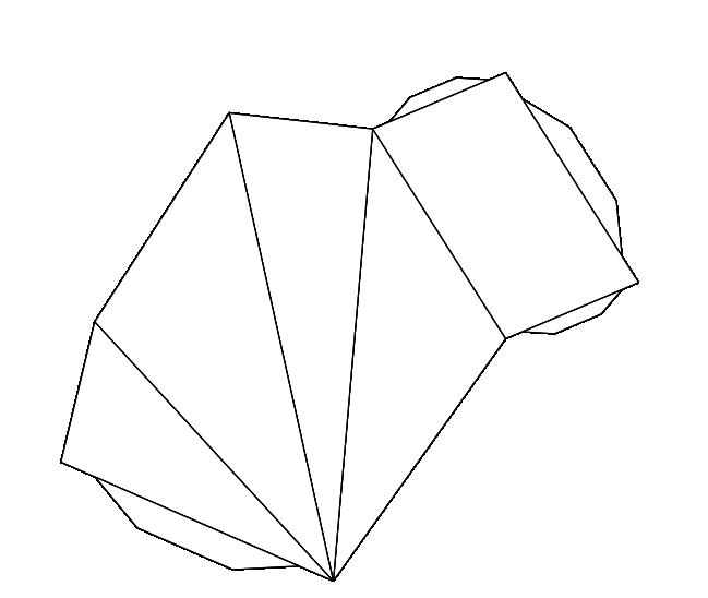 Como puedo hacer una piramide rectangular en cartulina for Como hacer un sobre rectangular
