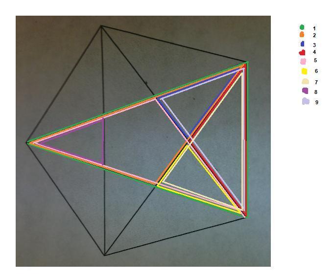 Cuantos Triangulos Hay En Este Pentágono Brainly Lat