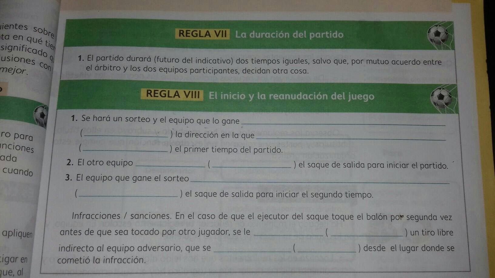 porfavor ayuden es para mañana español 1 de secundaria - Brainly.lat