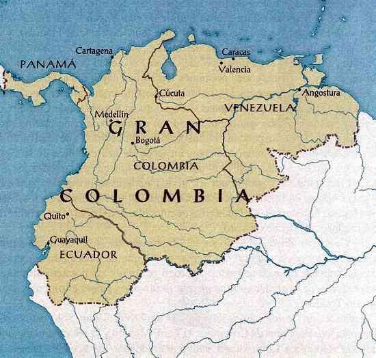 4 Causas De La Disolucion De La Gran Colombia Brainly Lat