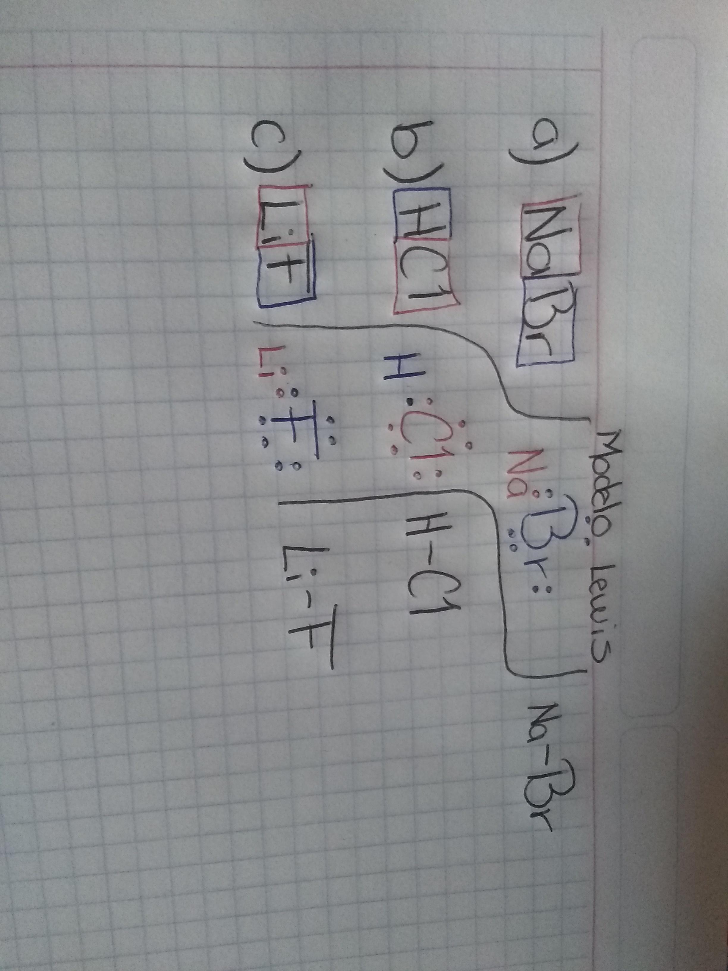 Que Representa La Estructura De Lewis Varias Estructuras