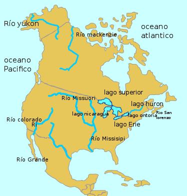 los lagos de america del norte  Brainlylat
