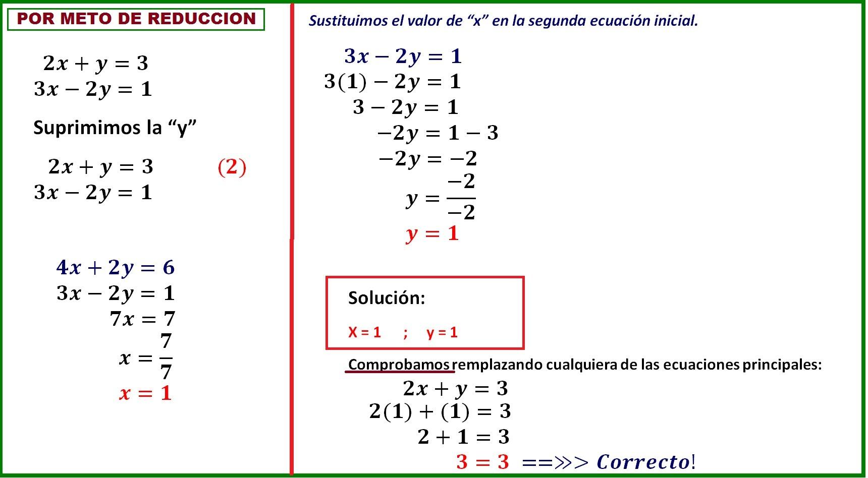 2xy3 3x 2y1 En Reduccion Brainlylat
