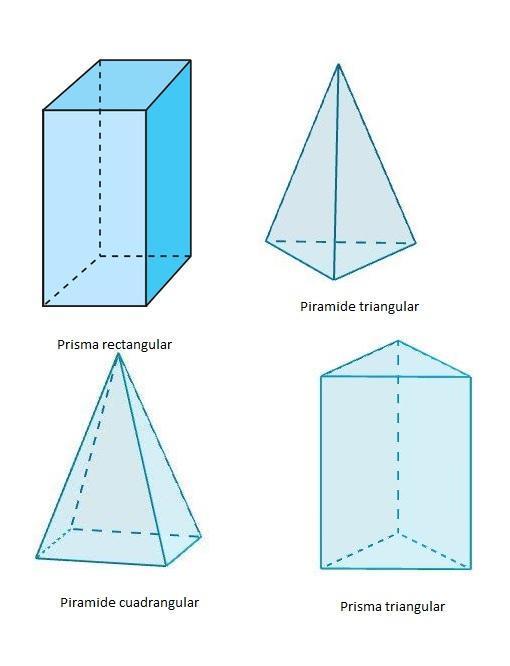 en el cuerpo geometrico