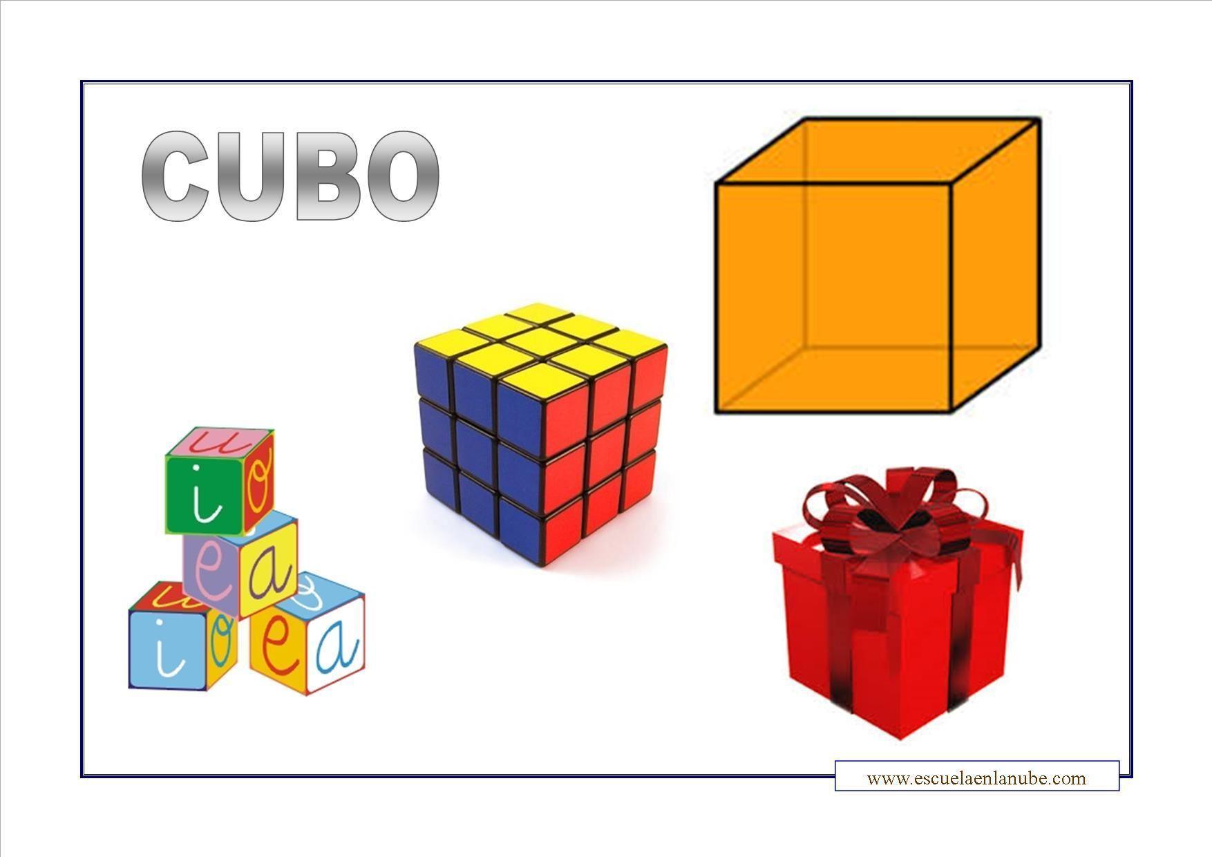 5 Objetos De Forma De Cubo Y 5 Objetos De Forma De Cilindro Es Tarea