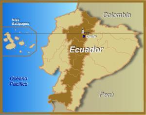 Mapa Del Ecuador Con La Cordillera De Los Andes Brainlylat