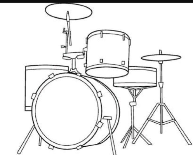 instrumentos musicales para colorear , ayuda porfa - Brainly.lat