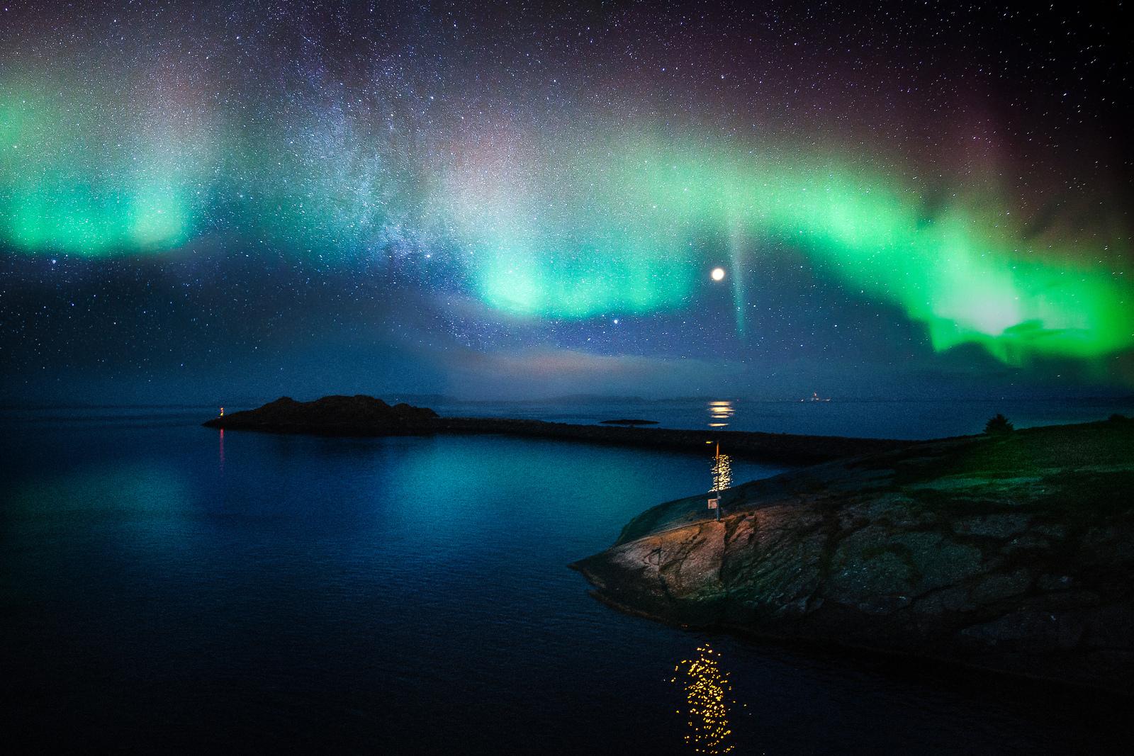 estado dela materia que se puede observar durante una aurora boreal ...