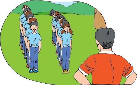 que es una fila en educacion fisica - Brainly.lat