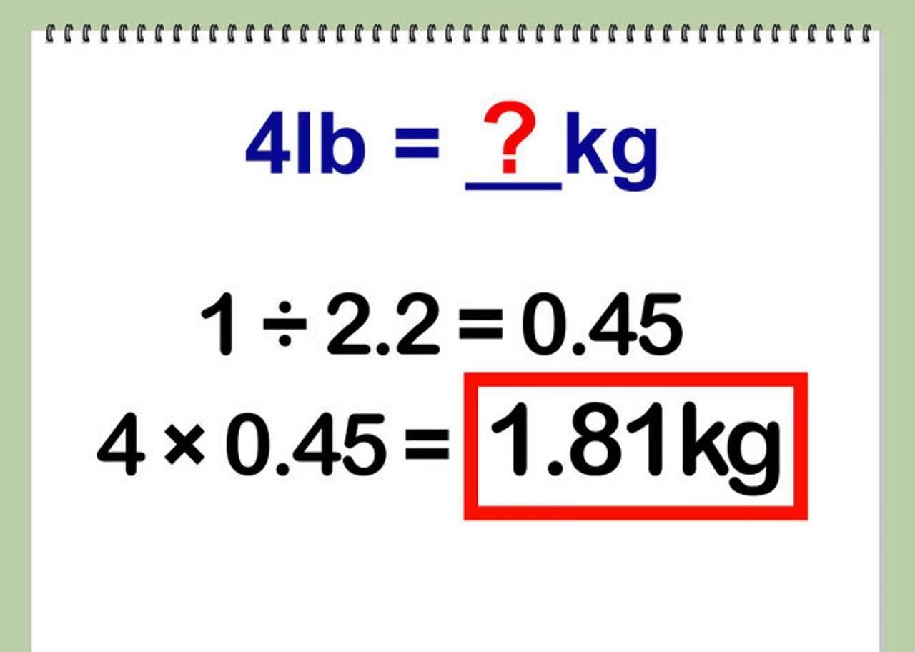 a cuantos kilogramos equivalen 46 libras