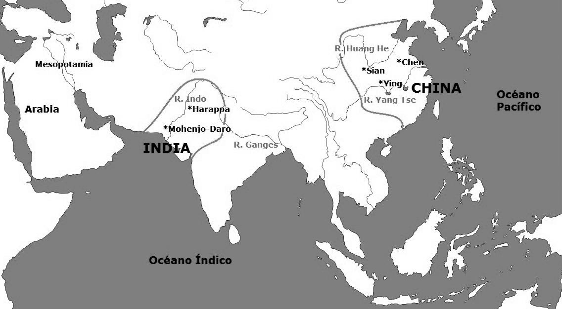 quisiera el mapa de asia donde seale los territorios ocupados por