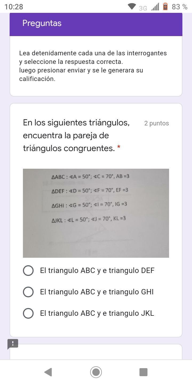 De encuentre triangulos congruentes las parejas ▷ Ángulos