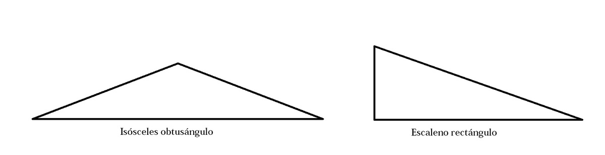dibuja . si existe. un triangulo que sea A) isoceles y obtusangulo b ...