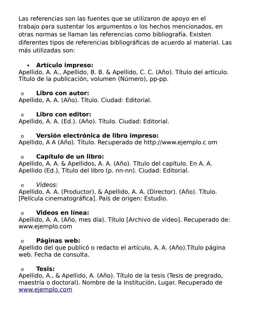 Como Citar Referencias Bibliograficas De Publicaciones De