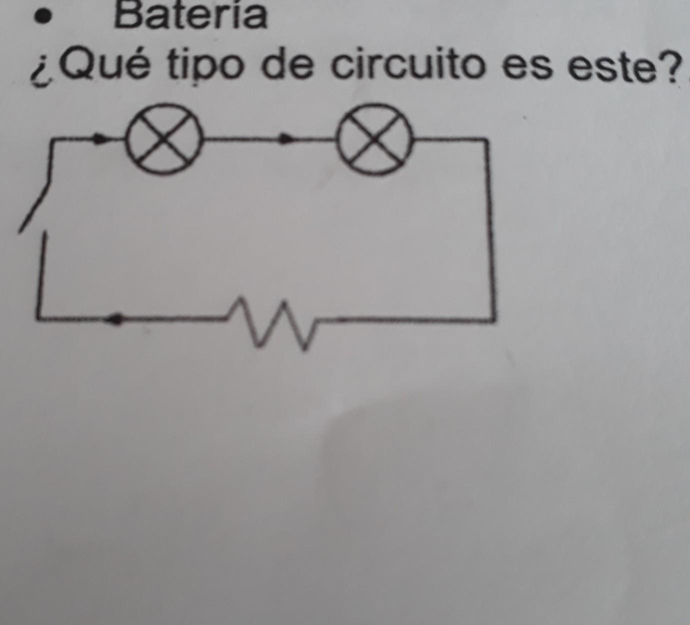 Circuito En Serie : Que tipo de circuito es este rie mixto paralelo ncillo