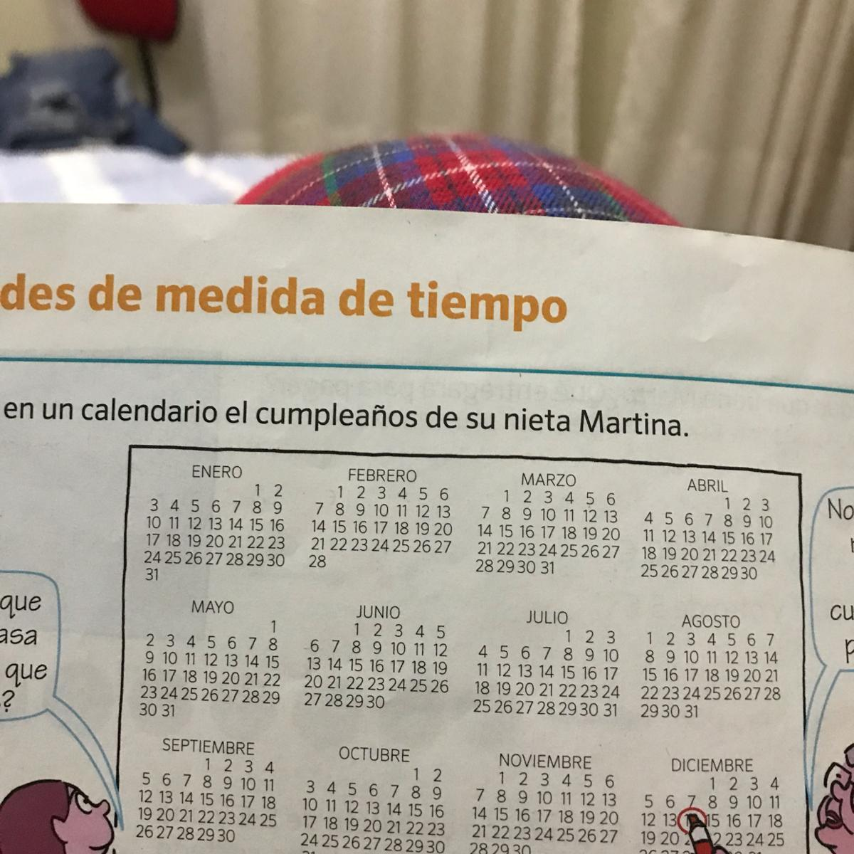 Calendario Julio Del 2000.Mila No Encuentra En Este Calendario En Cumpleanos De Su