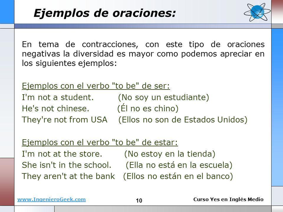 10 Oraciones Utilizando Verbo I Am En Ingles Y Español