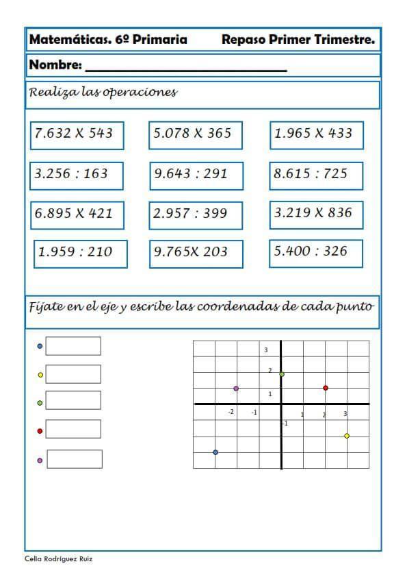 Actividades De Matematicas Para Sexto Grado De Primaria Pdf Brainly Lat