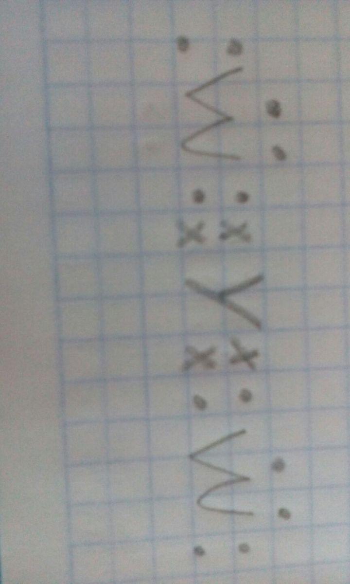 Estructura De Lewis De La Molécula Yw2 Brainly Lat