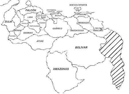 mapa de venezuela con sus estados para colorear , ayuda porfa ...
