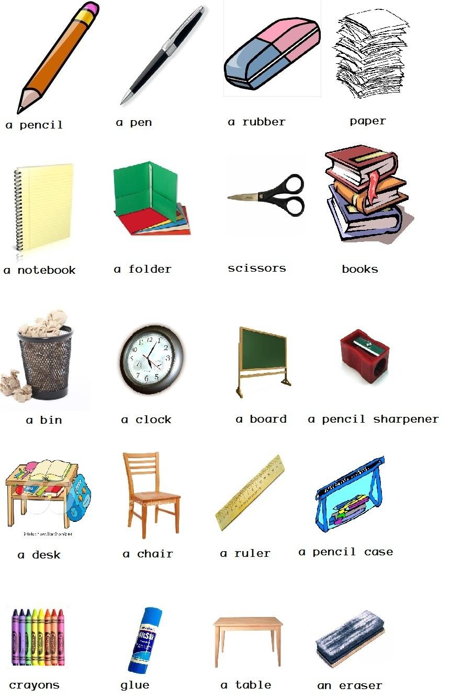20 Objetos De La Aula De Clases En Ingles Brainlylat