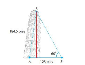 La Famosa Torre Inclinada De Pisa Tenia Originalmente 184 5 Pies De