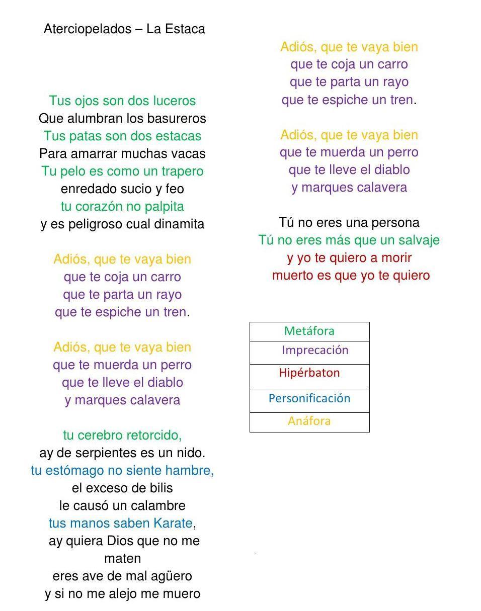 Ejemplos De Poemas En Sentido Literal Brainlylat