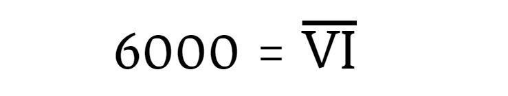 Como Se Escribe 6000 En Numeros Romanos Brainlylat