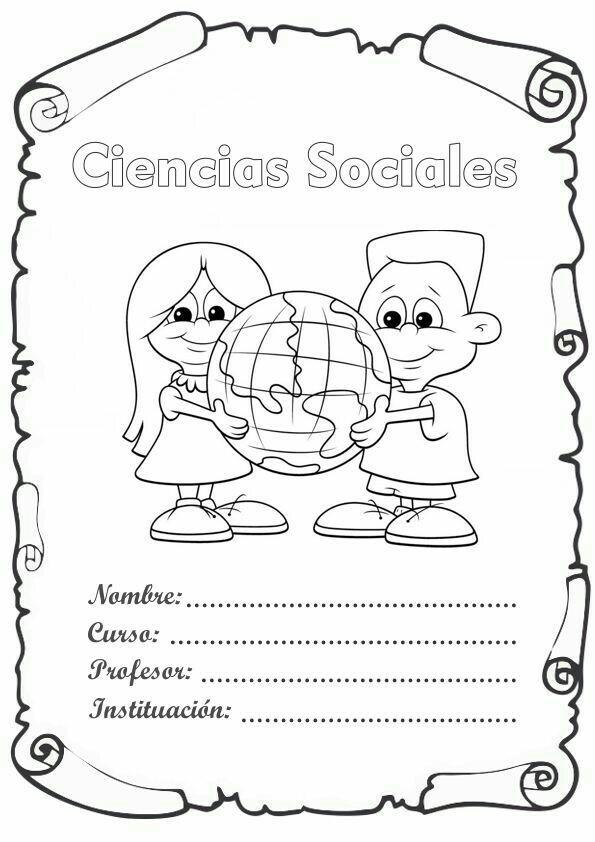 Caratula De Ciencias Sociales Para Pintar Imagui - www ...
