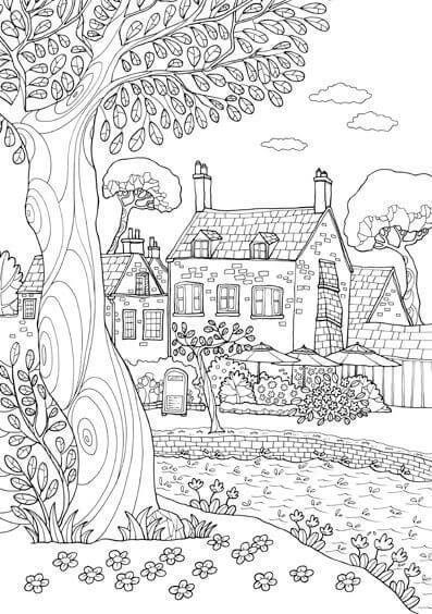 dibujo de la primavera para colorear , ayuda por favor - Brainly.lat