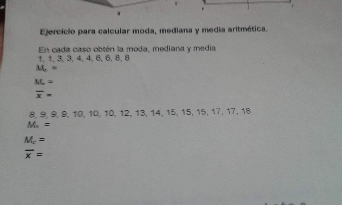 Como se calcula la media y la mediana