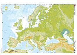 Mapa Mudo Fisico Europa Para Imprimir A4.Mapa Fisico Mudo De Europa Para Imprimir En A4 Brainly Lat