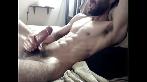 Hairy Stud Jerk Off