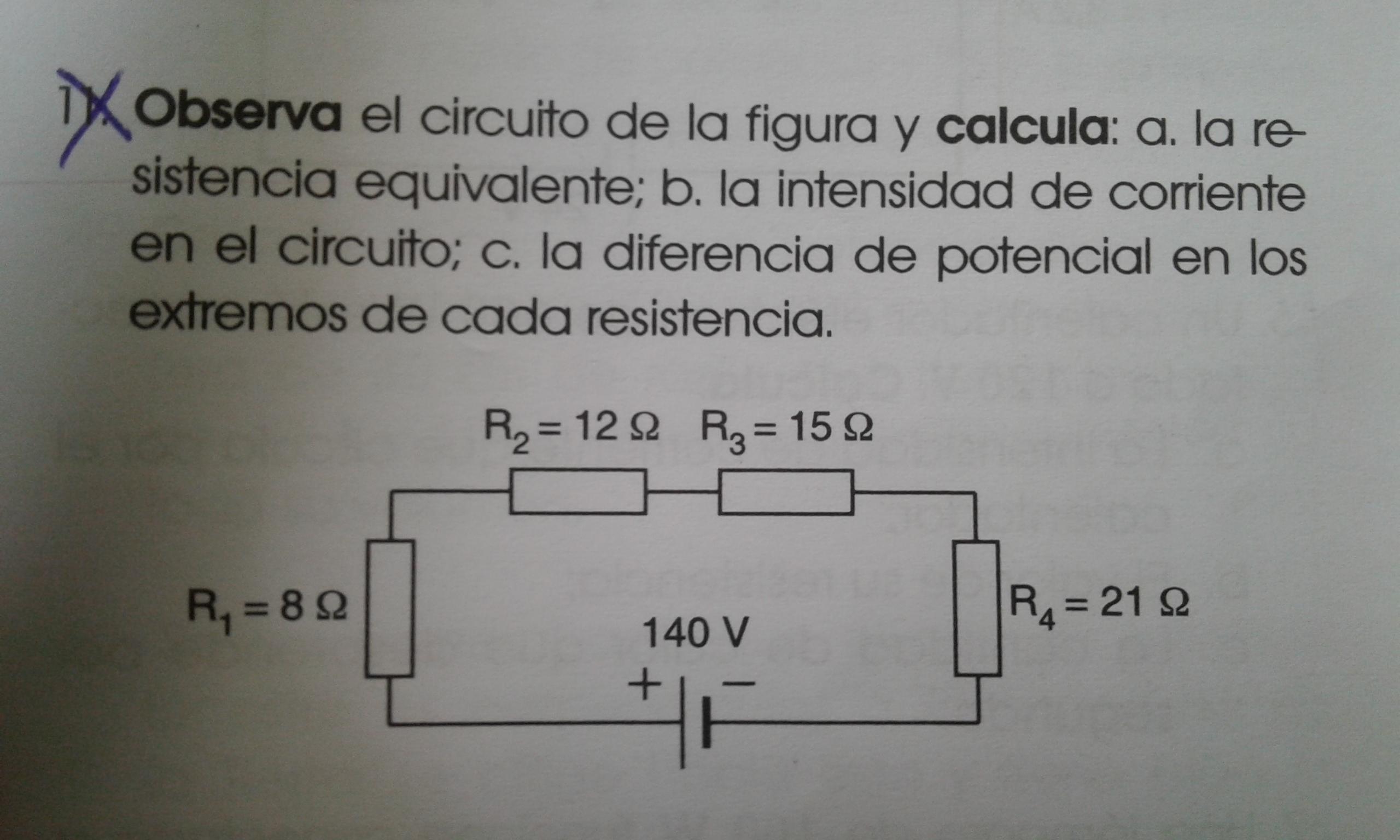 Circuito Z : Ayuda por favor .observa el circuito de la figura y calcula: a. la