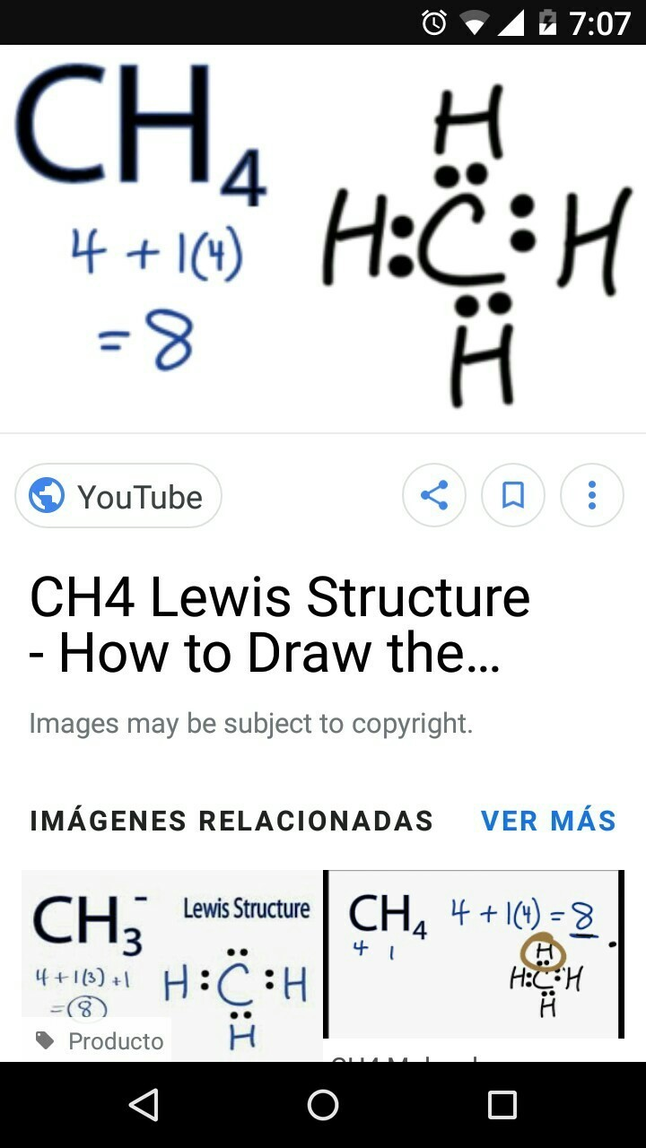 Estructura De Lewis Ch4 Brainly Lat