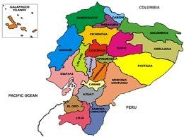 El Mapa Del Ecuador Con Sus Provincias Y Capitales Muchas Gracias Brainly Lat