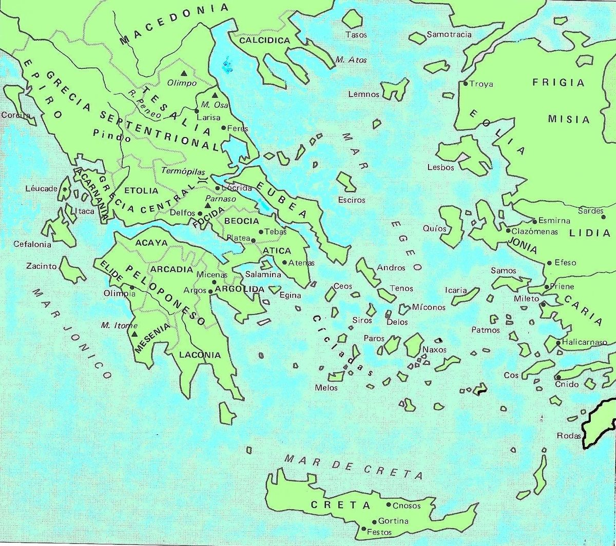 Mapa De Grecia Actual.Mapas De Grecia Antigua Y Actual Porfiiiiiiiis Brainly Lat
