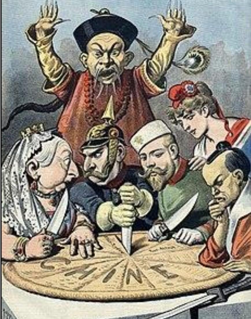 Observá y analizá la siguiente imagen. La misma representa la Conferencia  de Berlín en 1885, donde - Brainly.lat