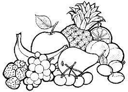 Imagenes De Frutas Y Verduras Para Colorear Ayuda Porfa Brainlylat